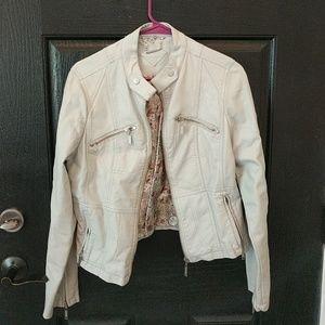 Jou Jou Womens Leather Jacket